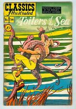Classics Illustrated #56 February 1949 VG The Toilers of the Sea