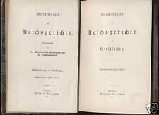 Justiz---Entscheidungen des Reichsgerichts--1890 -Zivil