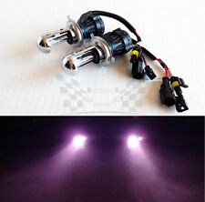 H4 9003 12000K Pink Purple AC 35W Bi-Xenon H/L HID Replacement Bulbs Dual Beam