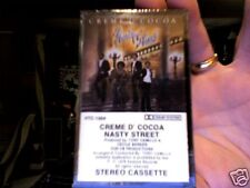 Creme d'Cocoa-  Nasty Street- rare new/sealed cassette tape