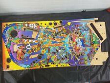 Stern Simpsons Pinball Party Pinball Playfield NOS