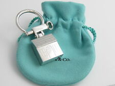 Tiffany & Co RARE VINTAGE Silver House Home Key Ring Key Chain Keychain Heavy!