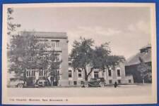 Moncton NB Canada Street View City Hospital Postcard