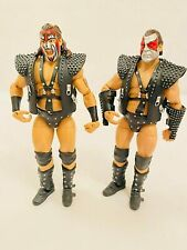 WWE Mattel Elite Legends Series 4 Demolition Ax & Smash Displayed Only!