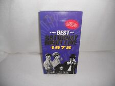 Best of Saturday Night Live 1978 VHS