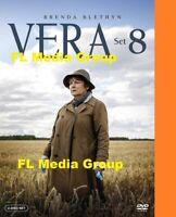 Vera: Complete Season 8 DVD Set New / Sealed **ON SALE**