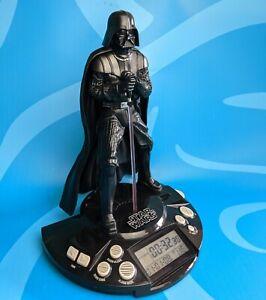 Star Wars Darth Vader LED Radio Alarm Clock (3AA batteries included, working)
