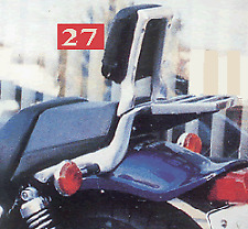 Yamaha V-Max 1200 #27 Sissy Bar with Pad & Rack Complete