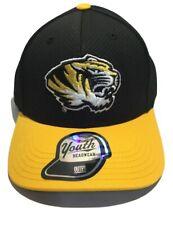 NCAA Missouri Tigers Men's Boss Snapback Hat, Ball Cap, Flat Brim