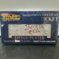 Back To The Future Enchantment Under The Sea Dance Silver Plated Ticket Limited