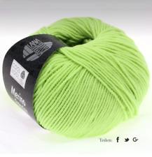 Lana Grossa Cool Wool Laine Mérinos Lavable en Machine Feutrage Fb 540 Vert Pâle