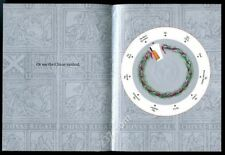 1988 Chivas Regal Scotch whisky die-cut spinner Xmas gift guide vintage print ad