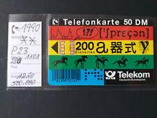 P 23 / 90 * * ISDN * 200 Einheiten - 60 DM Ladung * voll/mint * siehe Bild *