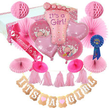 Complete Baby Shower Decorations for a Girl Set