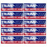 10PCS Donald Trump President 2020 Bumper Sticker Keep Make America Great KY