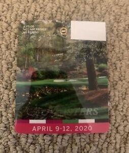2020 Masters Tournament Augusta National Golf Club Series Badge