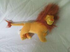 Simba (adult) vinyl mini plush doll - Lion King, Disney; Applause