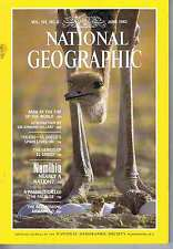 NAMBIA / MT EVEREST / EL GRECO / NAMIBIA	National Geographic	Jun	1982