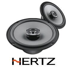"""HERTZ UNO X165 6.5"""" 16.5CM COAXIAL 2 WAY CAR VAN STEREO SPEAKER SET PAIR 220W"""