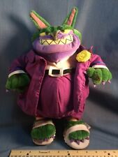 "1996 Wb Warner Bros. Studio Store Space Jam 13"" Mr. Swackhammer Plush Figure"
