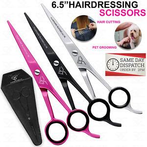 "PROFESSIONAL HAIRDRESSING SCISSORS 6.5"" BARBER SALON HAIR CUTTING RAZOR Sharp RS"