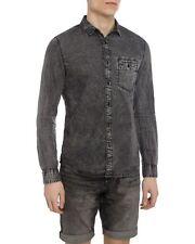 Calvin Klein Wilken Indigo Long Sleeve Denim Shirt Slim Fit S RRP £80.00 bnwt