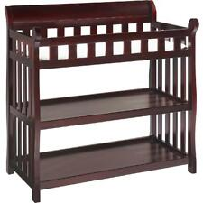 Eclipse Changing Table with Pad, Espresso Cherry, Delta Children