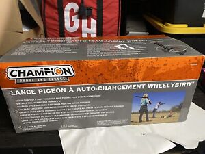 Champion WheelyBird Auto-Feed Trap Hunting Range Gear Skeet, Trap Shooting 40909