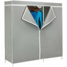 "Honey-Can-Do 60"" Steel Frame Wardrobe Closet System W"