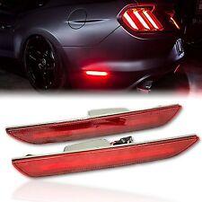 2015-2018 Ford Mustang Rear Panel Side LED Red Marker Lights Set Diode Dynamics