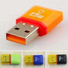 2pcs Lector de tarjetas memoria a USB 2.0 - Adaptador Para Micro SD SdHC SDXC TF
