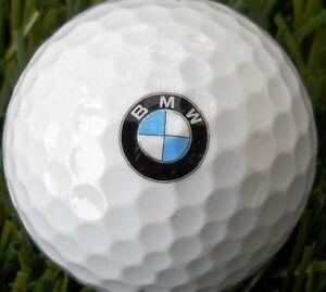 1 Dozen (BMW Logo) Mint / AAAAA Titleist DT Trusoft Collectors Golf Balls