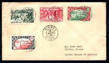 Niger #38,46,78-9 March 16 1938 Niamey Niger - USA