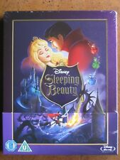 SLEEPING BEAUTY STEELBOOK (Region B Blu-Ray) DISNEY ZAVVI EXCLUSIVE - BRAND NEW!