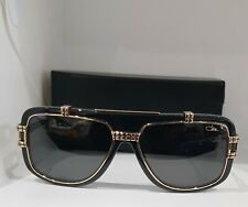 c7b934396d5b CAZAL Vintage Mod. 661 3 Col. 001 Gloss Black Gold Sunglasses Made in