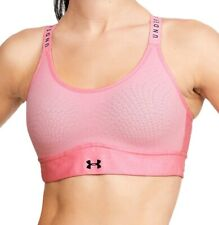 Under Armour Infinity Mid Womens Sports Bra - Pink