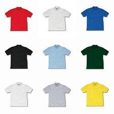Girls' No Pattern 100% Cotton Collared T-Shirts, Top & Shirts (2-16 Years)
