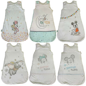 BABY CHARACTER SLEEPING BAG EX STORE 0-36M BOYS GIRLS UNISEX 2.5 TOG COTTON NEW