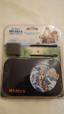 Ice Age 3 Eeek Gaming Starter Kit Nintendo DS Lite DSi 2 game cases stylus Bag