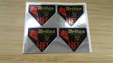 Classic Mini Cooper S BMC Mk1 Britax Foil Seatbelt Harness Buckle Decal Stickers