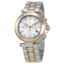 Guess Diver Chic Silver Dial Mens Chronograph Watch X58002G1S