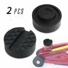 2 Pcs Floor Jack Rubber Pad Rubber Jack Pad Car Lift Rubber Pads For Jack Stands
