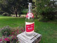 Vintage Pop Bottle. Private Brands Beverage Ltd. Yukon Club Kola. 30 Fl Ozs.