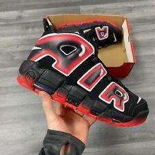 Nike Air More Uptempo 96 Negro Rojo Zapatillas Tamaño UK11 US12 EUR46 CJ6129-001