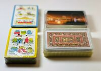 🃏vintage playing cards lot of 4 decks🃏