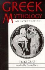 Greek Mythology: An Introduction by Fritz Graf (Paperback, 1993)