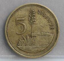 Lesotho - 5 Lisente 1979 - KM# 18