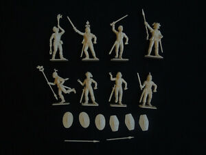 1/2 Italeri 6858 Gaul warriors 1:32 figures