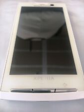 Sony Ericsson Xperia X10a - 1GB - Luster White (AT&T) Smartphone Unlocked MINT