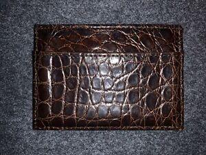 Coach ALLIGATOR Card Case/Wallet